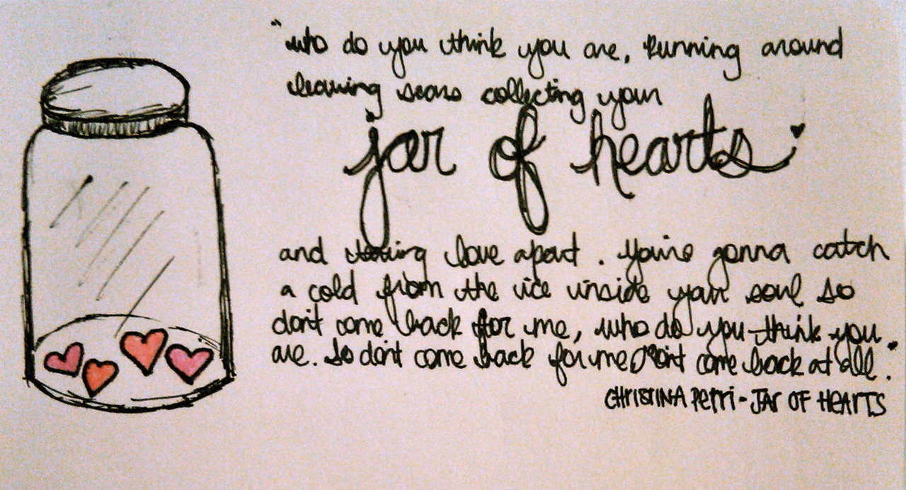 Who do you think you are... - Jar Of Hearts Fan Art ...