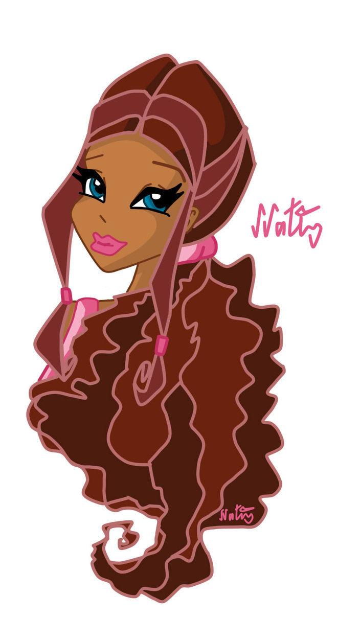 Winx Картинки, веселый урок и игра макияж для девушки!