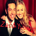 Zac&Yvonne fan art - zachary-levi fan art