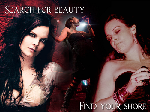 Nightwish wallpaper probably with a concert and a portrait called anette