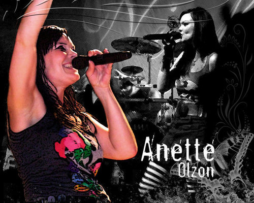 Nightwish wallpaper containing a concert entitled anette