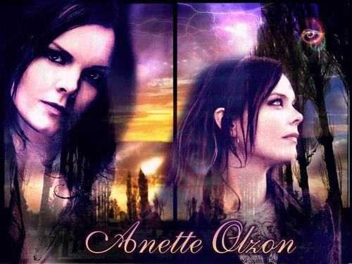 Nightwish wallpaper with anime called anette