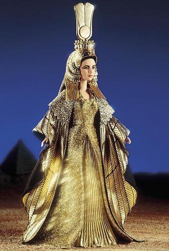 liz taylor-cleopatra doll