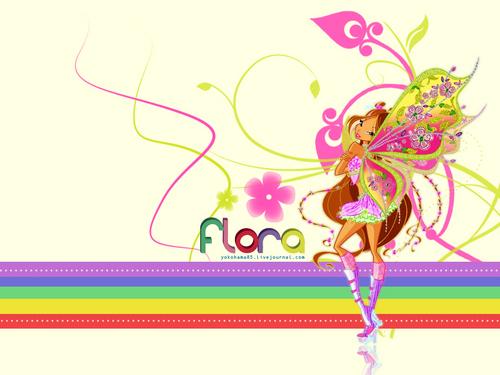 bloom, flora
