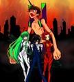 crossover - anime fan art
