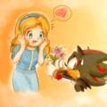 cute :) - shadow-the-hedgehog photo