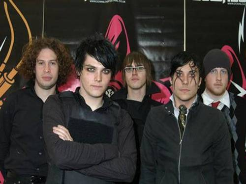 My Chemical Romance wallpaper possibly with a well dressed person and a business suit titled my chemical romance