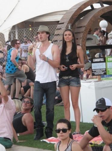 nina+ian at the 2011 Coachella