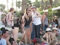 nina+ian at the 2011 Coachella