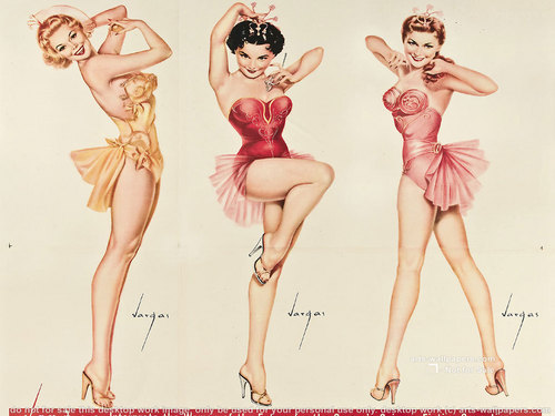 pun up chicks - pin-up-girls Wallpaper