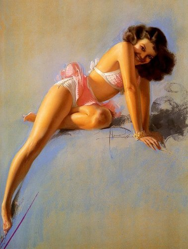 pun up chicks - pin-up-girls Photo