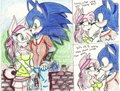 random sonic and amy date - sonamy photo