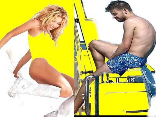 sexy swimsuit Shakira piqué 2