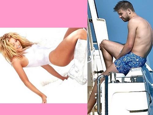 sexy badeanzug Shakira piqué