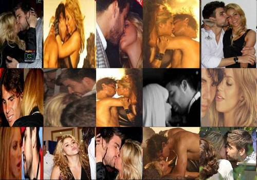 shakira gerard rafael kiss - shakira-and-gerard-pique Photo
