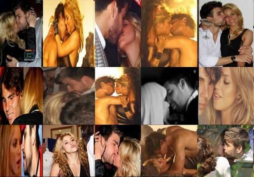 shakira gerard rafael kiss