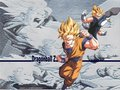 ssj Goku and Vegeta - dragon-ball-z wallpaper