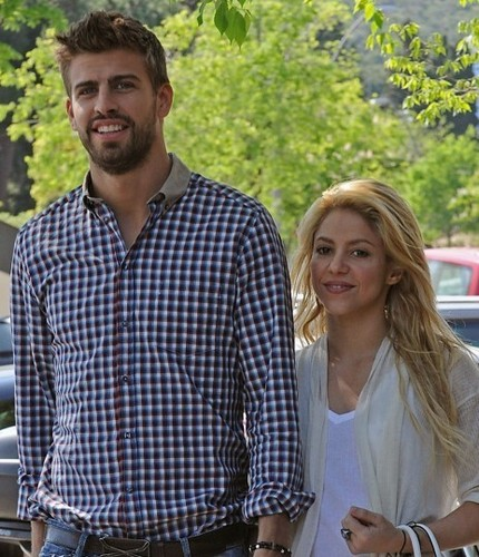 Shakira and Gerard Piqué images there is much to know the age difference! wallpaper and background photos