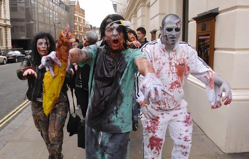 uk -london zombie