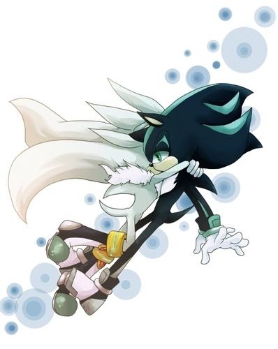 Sonic Yaoi karatasi la kupamba ukuta titled .:Mephilver:.