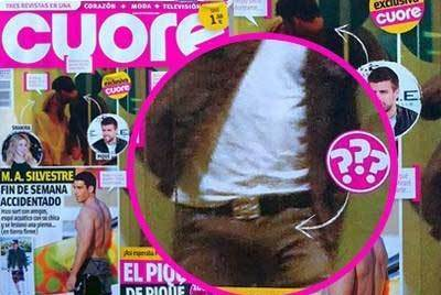 Gerard Piqué images  The tight-fitting pants, oversized penis's see Gerard Pique, who gave it to Shakira in the bedroom  wallpaper and background photos
