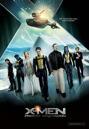 'X-Men: First Class' Spanish poster - jennifer-lawrence Photo