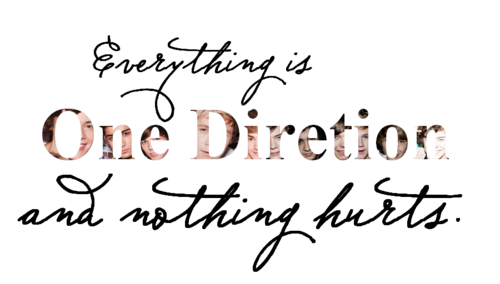 "1D = Heartthrobs (Enternal Love) ""Everyfing Is 1D & Nofing Hurts"" Love 1D Soo Much! 100% Real ♥"