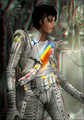 3D#mj - captain-eo fan art
