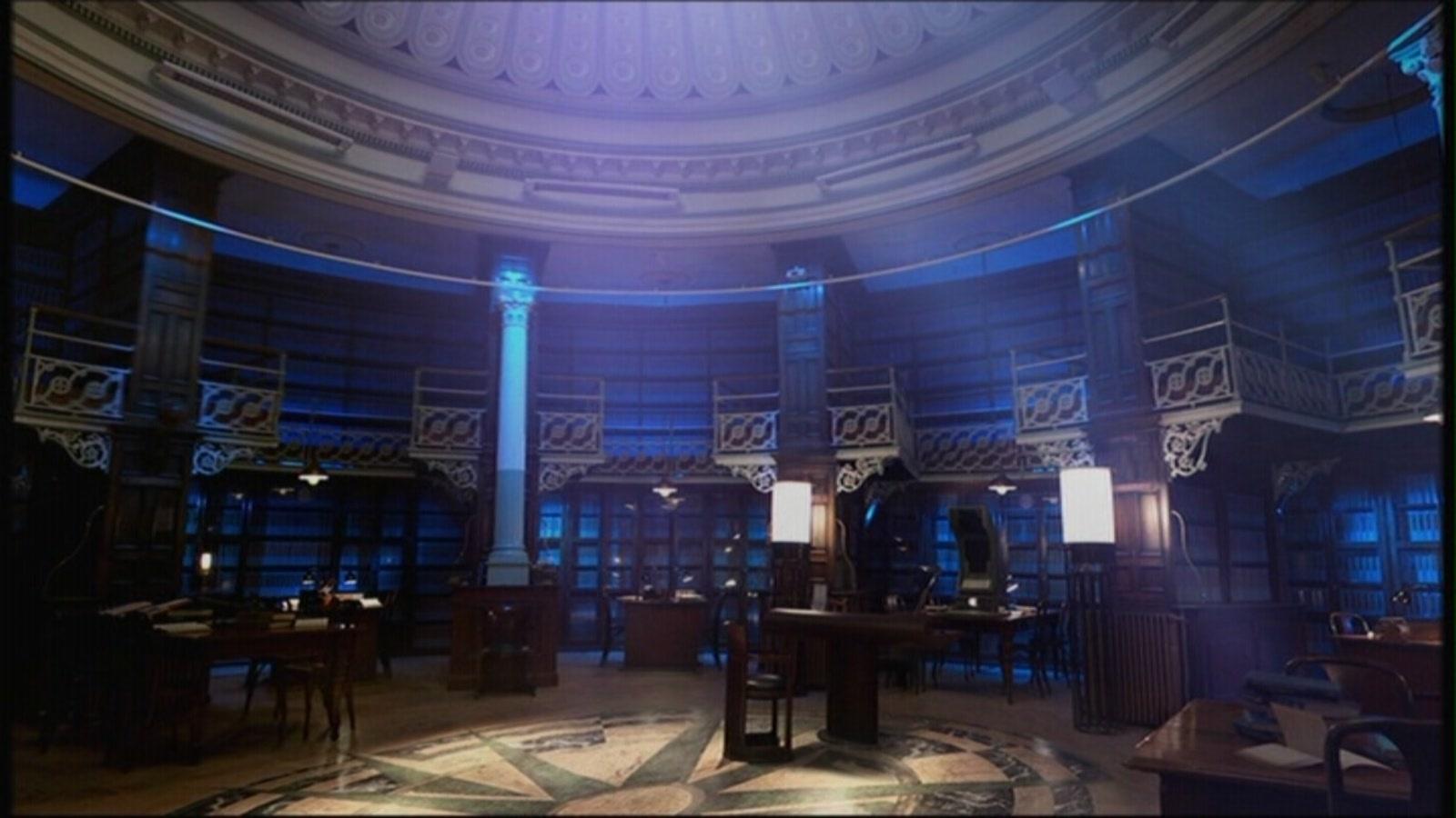 4x08 Silence in the 图书馆