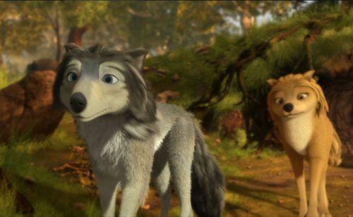 Alpha and Omega mga wolpeyper