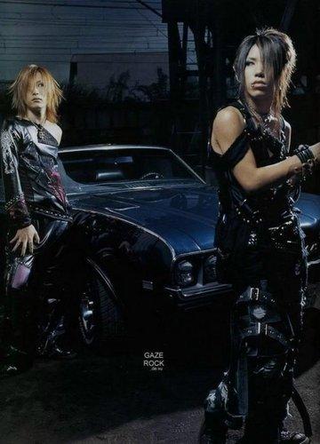 Aoi and Uruha