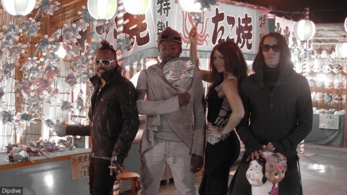 Apl, Will, Fergie And Taboo At Japan