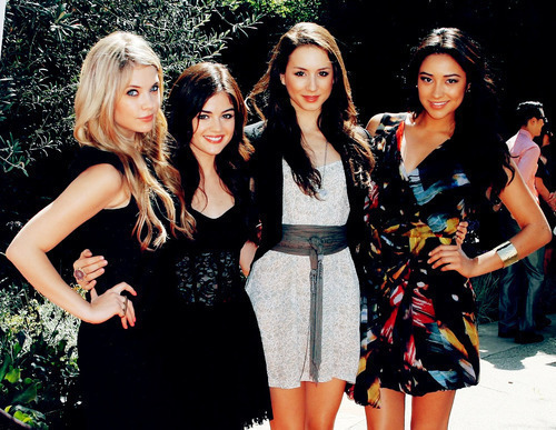 Ashley, Shay, Lucy and Troian