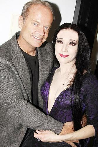 Bebe and Kelsey Grammer