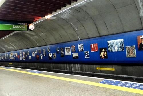 Brigadeiro station subway - Sao Paulo - 22/08/2010