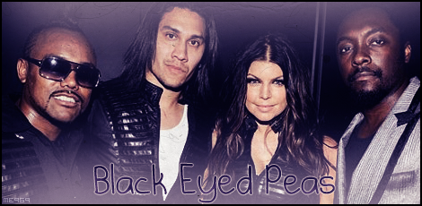 Black Eyed Peas wallpaper possibly containing sunglasses entitled Black Eyed Peas - Signature