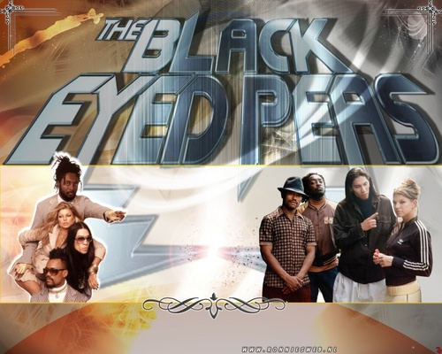 Black Eyed Peas Hintergrund with Anime called Black Eyed Peas - Hintergrund