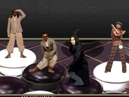 Black Eyed Peas - fondo de pantalla