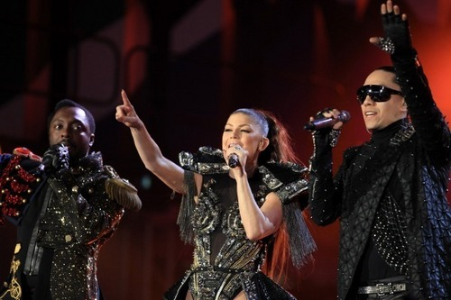 Black Eyed Peas - Word Cup Kick-Off concierto - Africa