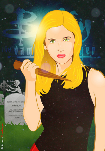 Buffy fã Art