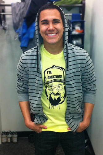 Carlos Photoshoot for Giant Creature