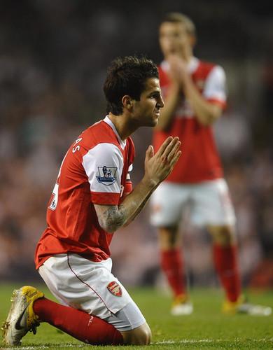 Cesc (Tottenham - Arsenal)