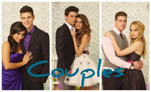 The Secret Life of the American Teenager wallpaper possibly with a bridesmaid titled Couples