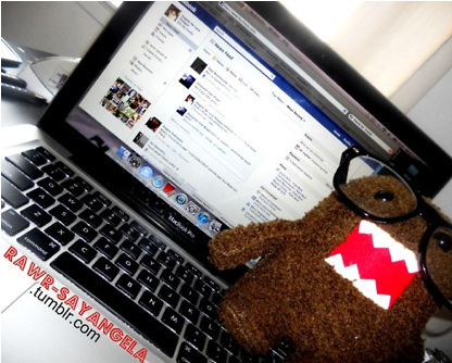 domo-kun wallpaper with a laptop entitled DOMO