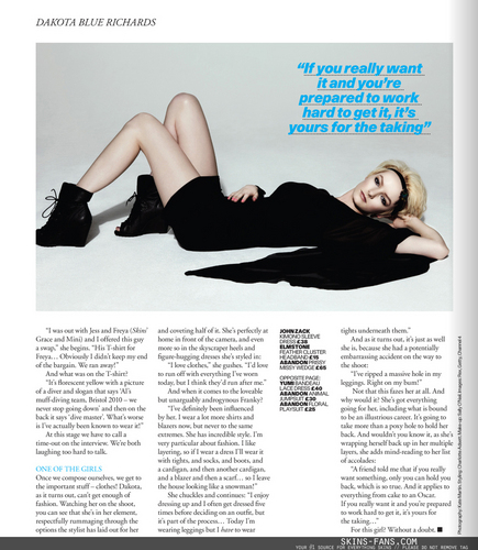 Dakota Blue Richards - USC Magazine