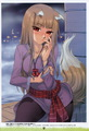 Embarresed Holo - spice-and-wolf photo