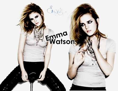 Emma Watson Wallpaper. ♥