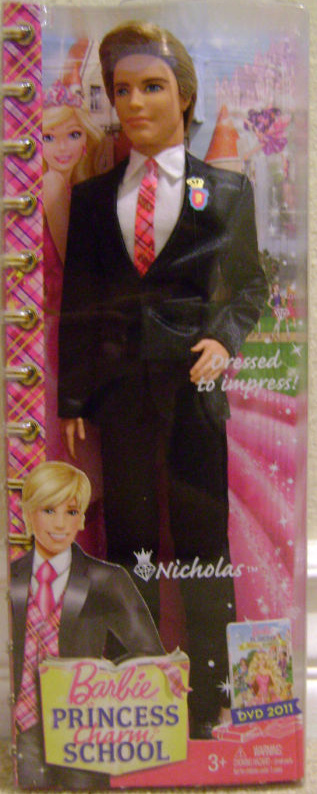 Famous Prince Nicholas from PCS doll! - barbie-movies photo