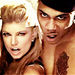 Fergie And Nelly - black-eyed-peas icon