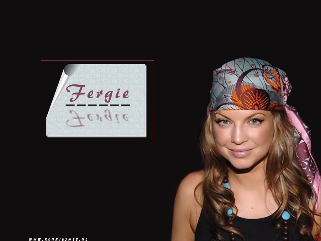 fergie - wallpaper
